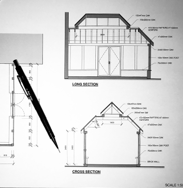 Plans of Oak Framed Buildings